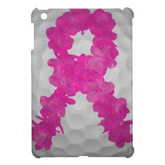 乳癌の認識度のゴルフ・ボール iPad MINI カバー