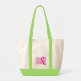 乳癌の認識度のトート トートバッグ