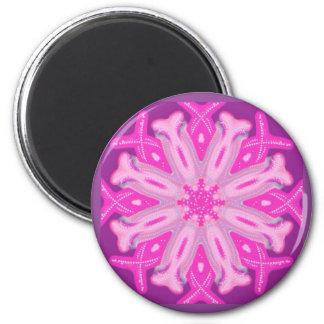 乳癌の認識度のピンクのリボンの磁石 マグネット