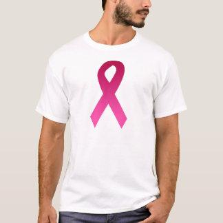 乳癌の認識度のピンクのリボン Tシャツ