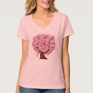乳癌の認識度のTシャツ Tシャツ