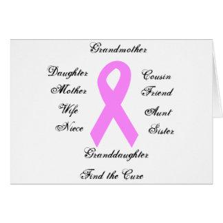 乳癌の認識度カード カード