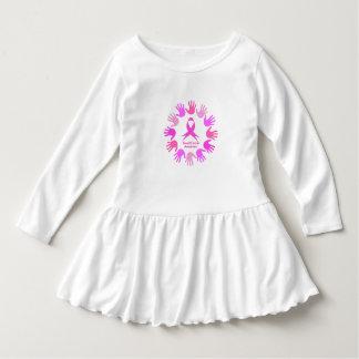 乳癌の認識度サポート ドレス