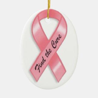 乳癌の認識度 セラミックオーナメント