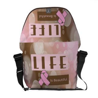 乳癌の認識度 メッセンジャーバッグ