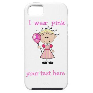 乳癌の認識度 iPhone SE/5/5s ケース