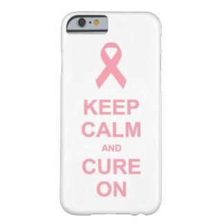 乳癌は平静を保ち、治ります BARELY THERE iPhone 6 ケース