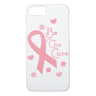乳癌は治療の電話箱です iPhone 8/7ケース
