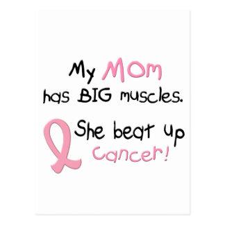 乳癌大きい筋肉1.1お母さん ポストカード