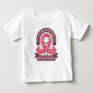 乳癌-レトロの慈善のリボン- Tシャツ