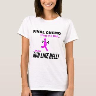 乳癌-最終的なChemoは多くを走ります Tシャツ