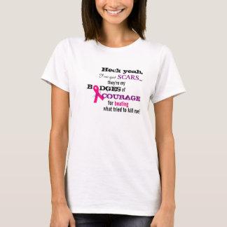 乳癌BRCAのTシャツ! Tシャツ