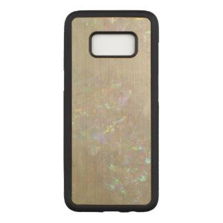 乳白光の電話箱 CARVED SAMSUNG GALAXY S8 ケース