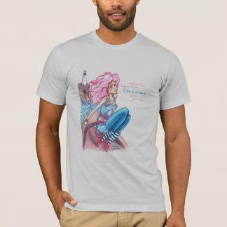 乳白色のミキサーによる夢のティーのように Tシャツ