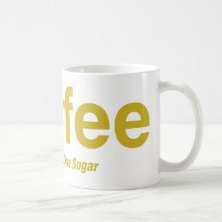 乳白色コーヒー1つの砂糖 コーヒーマグカップ