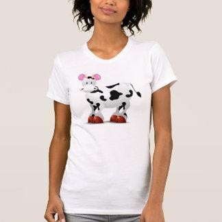 乳白色牛 Tシャツ