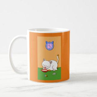 乳白色 コーヒーマグカップ
