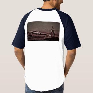 乾ドックのヴィンテージのタグボート Tシャツ