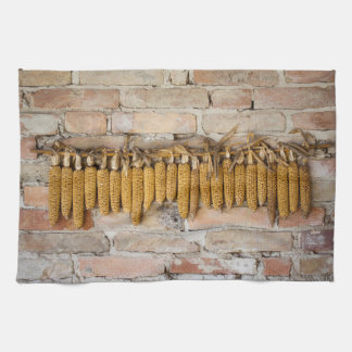 乾燥されたトウモロコシ穂軸 キッチンタオル