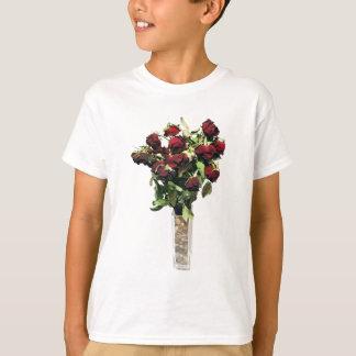 乾燥されたバラ Tシャツ