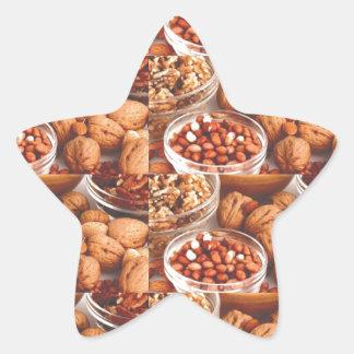 乾燥したフルーツの毎日のダイエットの健康の料理の専門家のシェフ 星シール