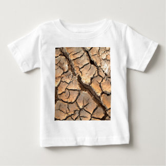 乾燥した土/一流の地球 ベビーTシャツ