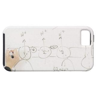 乾燥消去板の化学 iPhone SE/5/5s ケース