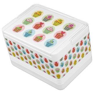 予測できないカップケーキのイグルー12のクーラーボックス 缶クーラー