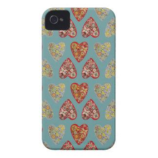 予測できないハート Case-Mate iPhone 4 ケース