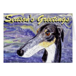 予測できないラーチャーのクリスマスカード カード