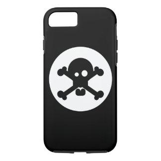 予測できない死のスカル iPhone 8/7ケース