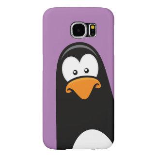 予測できない漫画のペンギン SAMSUNG GALAXY S6 ケース
