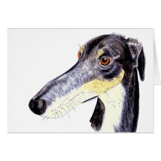 予測できなくおもしろいなラーチャー犬 カード