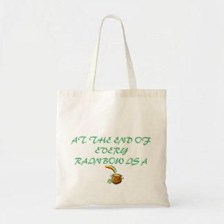 予算のトート金の壷 トートバッグ