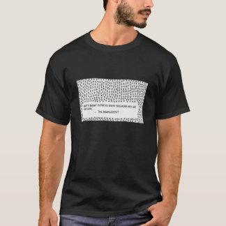 予算の削減 Tシャツ