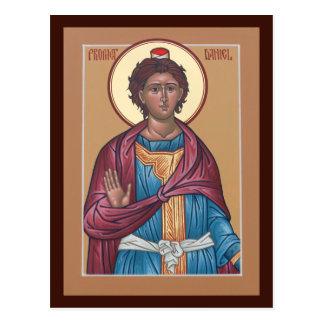 予言者のダニエルの祈りの言葉カード ポストカード