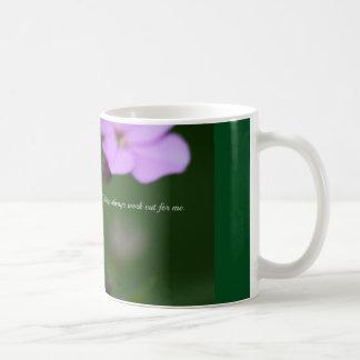 事は私のために常に解決します コーヒーマグカップ
