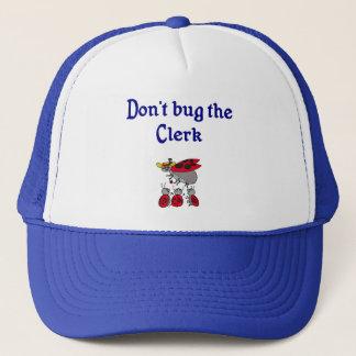 事務員の帽子を煩わせないで下さい キャップ