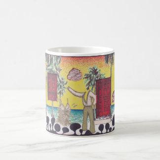 事実上のサルサ コーヒーマグカップ
