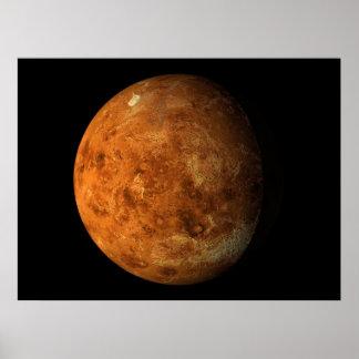 事実上の惑星の金星の惑星の眺め01 ポスター