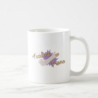 事故を起こしがち コーヒーマグカップ