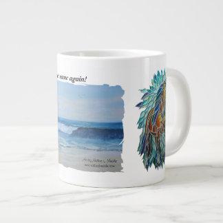 二つのイメージのマグ、ジャンボ20のoz、 ジャンボコーヒーマグカップ