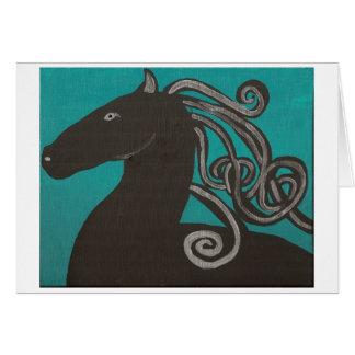 二番目にギリシャの馬 カード