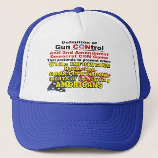 二番目の銃砲規制のアンチの修正の民主党員の詐欺の帽子 キャップ