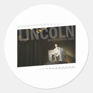 二百年毎エイブラハム・リンカーン ラウンドシール