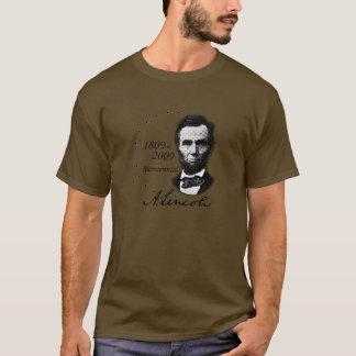 二百年毎 (Abe)アブラハムリンカーン Tシャツ