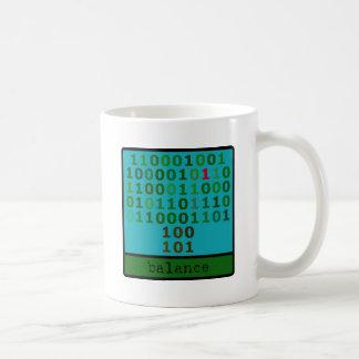 二進バランス コーヒーマグカップ