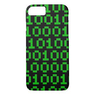 二進ピクセルコードiphoneの場合 iPhone 8/7ケース