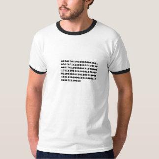 二進声明 Tシャツ