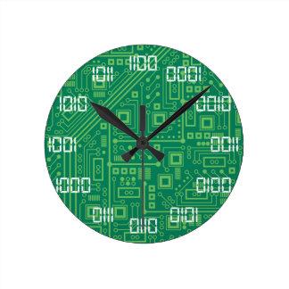 二進時間 ラウンド壁時計